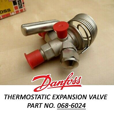 Thermostatic Expansion Valve - Danfoss TEF 2 - 1,5 Part no. 068-6024