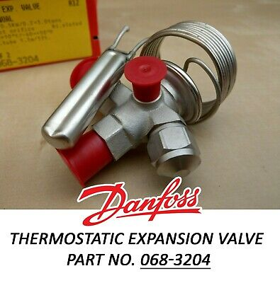 Thermostatic Expansion Valve - Danfoss R12 TEF 2 Part no. 068-3204