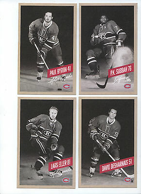 2015-16 Montreal Canadiens Team Set  Post Card Sealed New Rare!