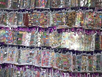 Huge Lot Of 1,200 Packs Of Sticko Stickers New