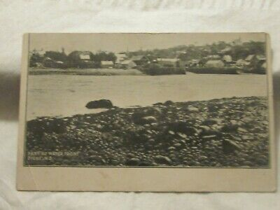 1907 Postcard Part of Water Front Digby N.S.B 1044