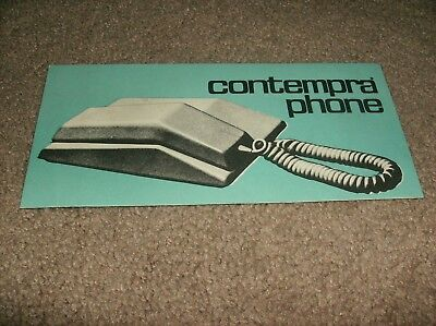 Contempra Phone Manual - Northern Electric Company - 70'S - Estate