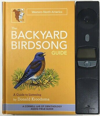 The Backyard Birdsong Guide: Western North America: A Guide to Listening - Book