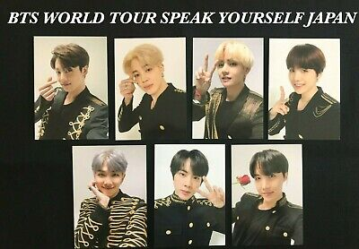 BTS JUNGKOOK LOVE YOURSELF SPEAK YOURSELF Coin Pouch Photocard Japan Edition