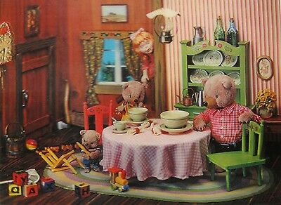 Fairy Tales Goldilocks and the Three Bears Large Lenticular 3-D Picture 12 x 16