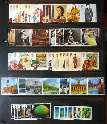 GB 2012 Commemorative Stamps~Year Set~Unmounted Mint~no m/s~UK Seller