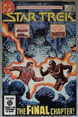 DC COMICS STAR TREK # 4 The Final Chapter May 1984 Excellent