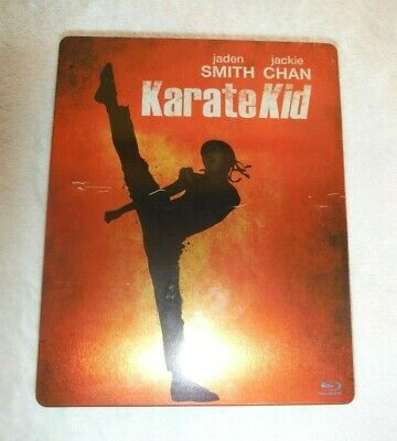 Karate Kid Bluray and DVD Steelbook Jackie Chan and Jaden Smith Classic Movie