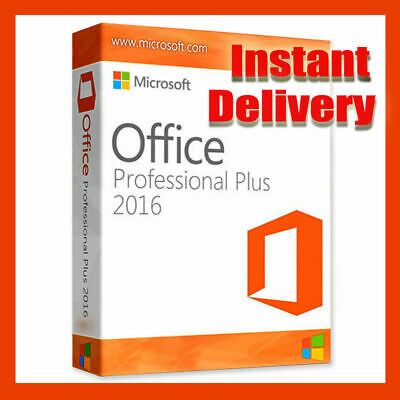 Microsoft Office 2016 Professional Plus Product Key License For Windows PC
