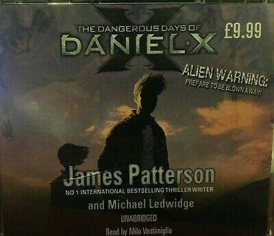 The Dangerous Days of Daniel X by James Patterson (Audiobook CD)