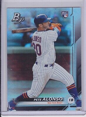 2019 Bowman Platinum Pete Peter Alonso SP RC #20 Mets Retail ONLY NM/MT (1416)