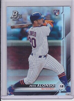2019 Bowman Platinum Pete Peter Alonso SP RC #20 Mets Retail ONLY NM/MT (1260)
