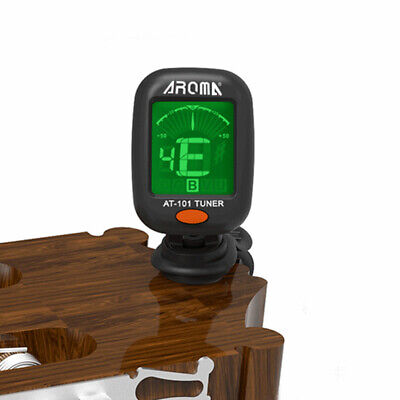 Electric Guitar Tuner Foldable Rotating Clip High AT-101 AT-01A Digital Clip-on