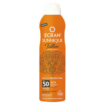 Zonnebrand Spray Tattoo Ecran (250 ml)