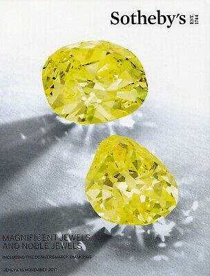 MAGNIFICENT & NOBLE JEWELS, incl. DONNERSMARCK: Sotheby's Wälzer Genf 17