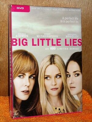 Big Little Lies (DVD, 2017, 3-Disc Set, Includes Digital Copy) Reese Witherspoon