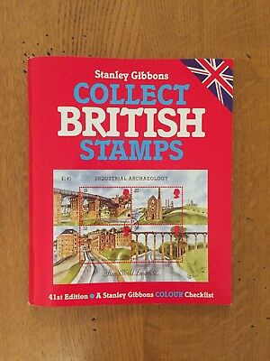 Stanley Gibbons Collect British Stamps 41st Edition excellent condition