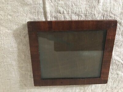 Lovely small walnut veneer frame, late 18th, early 19th century frame