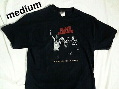 Black Sabbath The End World Tour T SHIRT 2016 Tour Concerts & Dates 2-sided Sz M