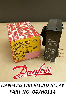 Danfoss Thermal Overload Relay TI 25 - DOL 19 > 25 A Part no. 047H0114