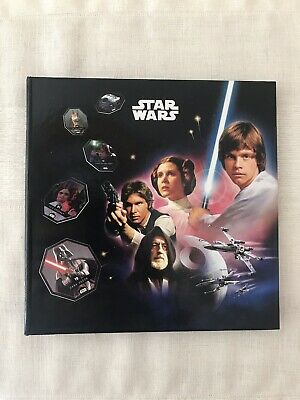 STAR WARS TRILOGY - COMPLETE ALBUM COLLECTOR - LECLERC - No Panini