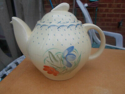 "Susie Cooper "" APRIL "" Art Deco Teapot"