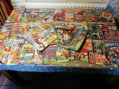 Roy Of The Rovers Comics Complete Year 52 Weekly issues Jan - Dec 1987