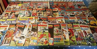 Roy Of The Rovers Comics Complete Year 52 Weekly issues Jan - Dec 1989
