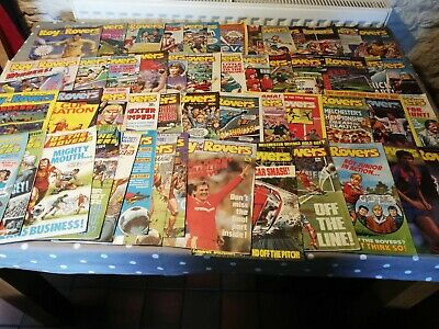 Roy Of The Rovers Comics Complete Year 52 Weekly issues Jan - Dec 1988