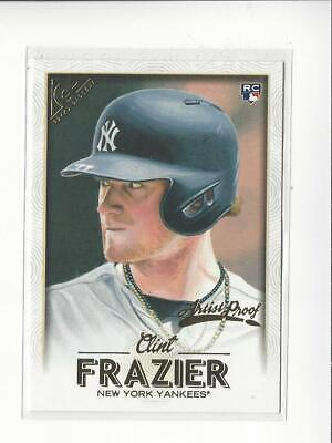 2018 Topps Gallery Artist Proof #85 Clint Frazier RC Rookie Yankees