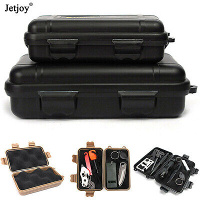 Plastic Outdoor Survival Shockproof Sealed Waterproof Storage Case Tool Boxes