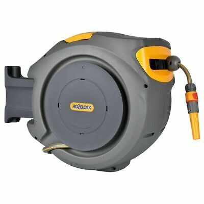 Hozelock Automatic Hose Reel 30m Outdoor Wall Mount Watering Pipe 2403 0000~