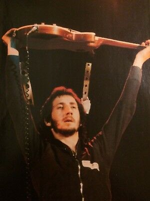 The Who, Pete Townshend, Full Page Vintage Pinup