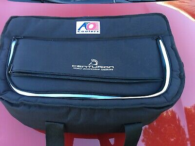 AO Coolers 38 Pack Canvas Stow-N-Go Soft Cooler Black Outdoor NEW Centurion Boat