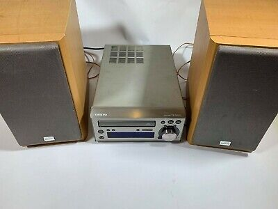 ONKYO CR-305 FX mini stereo RDS radio/cd player with 2 speakers.