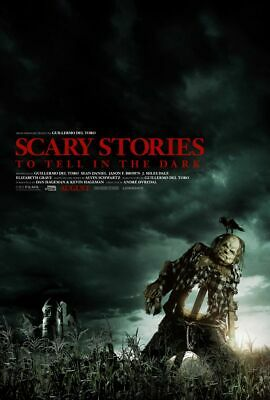 Scary Stories to Tell In The Dark - original DS movie poster 27x40 D/S Del Toro