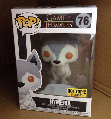 Funko Pop Nymeria Hot Topic Exclusive #76 GOT Game of Thrones With Box