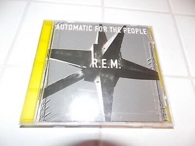 Rem Automatic For The People 1992 Wb Records Original Usa Pressing 1St Rare Htf