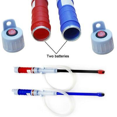 Handheld Water Pump Liquid Transfer Gas Oil Safety Siphon Battery Operated Tool^