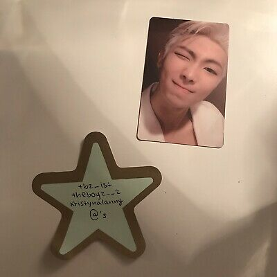 PRICE DROP! ⭐️ [BTS] RM Official Photocard/ MAP OF THE SOUL : PERSONA Version 2