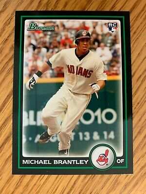 2010 Bowman Draft Picks Michael Brantley Rookie Card #BDP-90 Houston Astros
