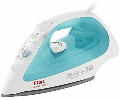Tefal steam iron Comfort glide special ceramic 2690 with blue cod 3... fromJAPAN