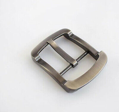 Men Matte Gun Strap Single Prong Metal Buckle Leather Craft For 38mm Belt Parts