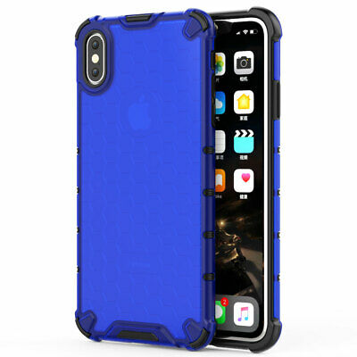Ultra Slim Shockproof Rubber PC Hybrid Armor Case Cover for iPhone XS Max XR X 8