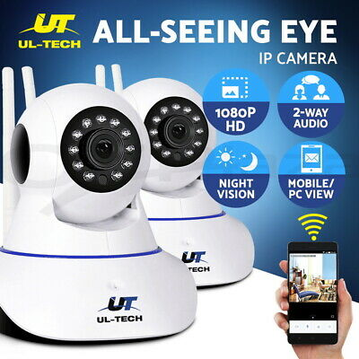 UL-tech Wireless IP Camera CCTV Security System HD Outdoor PTZ Cameras WIFI 2MP