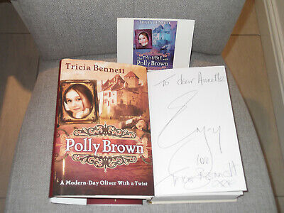 """*Signed 1st Edition* TRICIA BENNETT 'Polly Brown' HB """"Oliver with a Twist"""""""