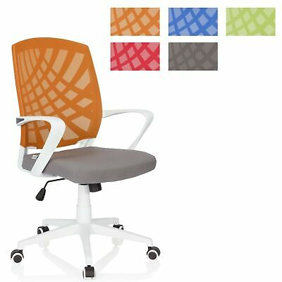 Office Chair Executive Swivel Chair Mesh Adjustable Fabric SPRING hjh OFFICE