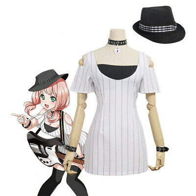 Japan Anime BanG Dream! Afterglow Uehara Himari Women's Cosplay Costume Full Set