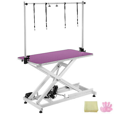 """46""""X 26"""" Electric Pet Dog Grooming Table Lifting 440Lbs Large Bath Stable Safe"""