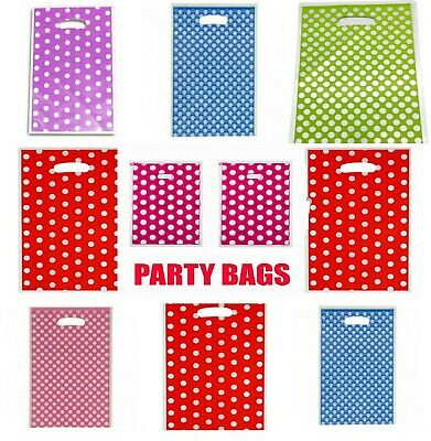 Extra Party Gift Bags  Small Bright Plastic Party Bags - Gift Bag With Handles